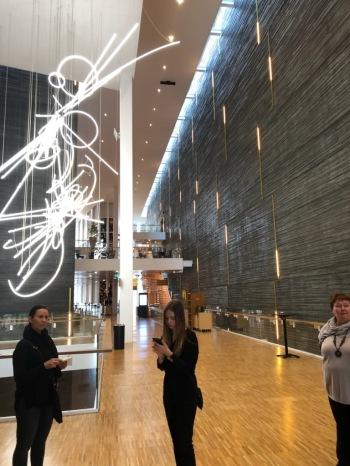 Malmön musiikkitalon aula