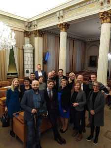 Kokoomusryhmä valtuuston budjettikokouksen jälkeen
